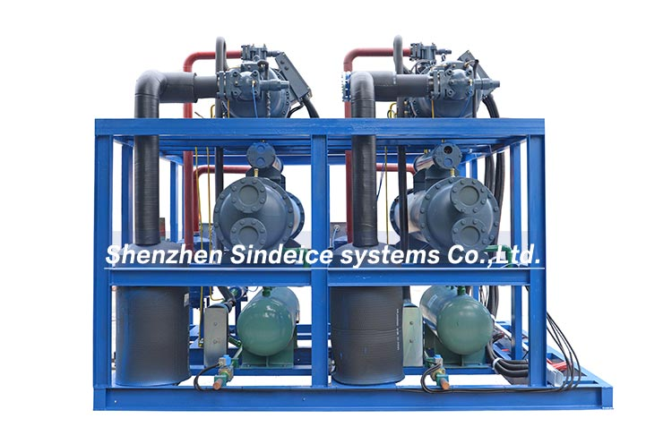 large-scale water chiller refrigeration unit